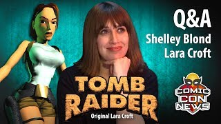 Original Voice Of Lara Croft in Tomb Raider 1996 Shelley Blond voice actor at Comic Con St Albans 2019 answers questions. Shelley Blond was the first ...
