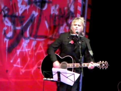 Mike Peters 'Economic Pressure' 21 Songs Wrexham 1-11-9