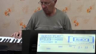 обзор синтезатора   Casio WK - 7600. Автоаккомпанемент