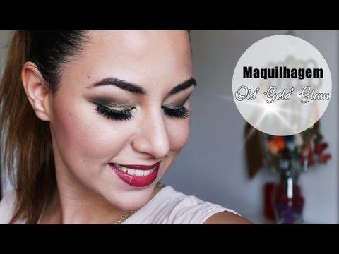 Maquilhagem| Old Gold Glam