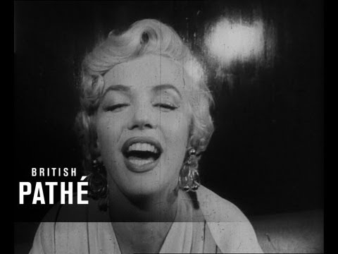 Death of Marilyn Monroe Newsclip