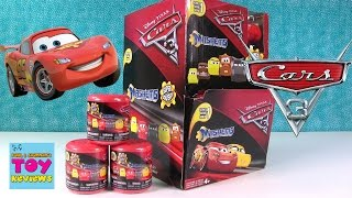 Cars 3 Mashems Palooza Disney Pixar Squishies Fun Full Set Opening | PSToyReviews