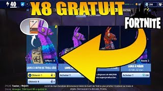Free Legendary Troll's Loot Lamas! Fortnite Save the World