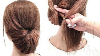 Прически за 2 секунды на Короткие волосы Сможет Сделать КАЖДАЯ