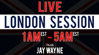 LIVE Forex London Session - 10/17/19