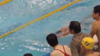 第3泳者.