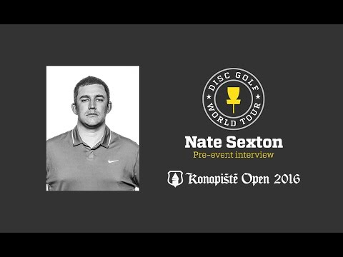 2016 Konopiste Open pre-event interview - Nate Sexton