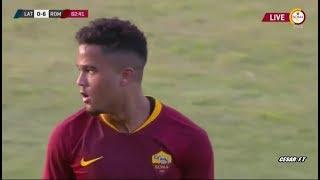 Justin Kluivert vs US Latina - Debut AS Roma - Individual Highlights 14/07/2018