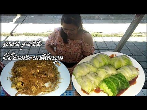 membeli-sawi-putih-(chinese-cabbage)-di-masak-bihun-goreng-dan-dimsum