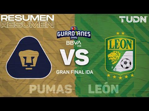 Resumen y goles | Pumas vs León | Final Ida - Guard1anes 2020 Liga BBVA MX | TUDN