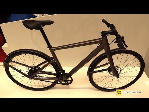 2017 BMC Alpen Challenge AC01 ICH Mountain Road Series Bike - Walkaround - 2016 Eurobike