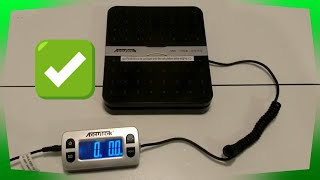 2020 Accutec W-8580 110lb Max Shipping Scale Review | Best Shipping Scale for eBay & Amazon