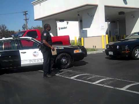 3 4 El Cajon Police Department Officers Harass