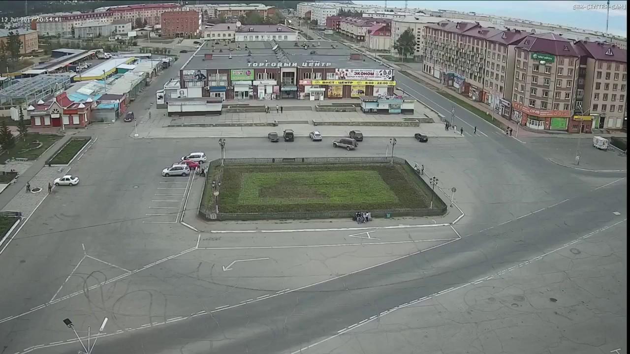 ДТП в центре Северобайкальска