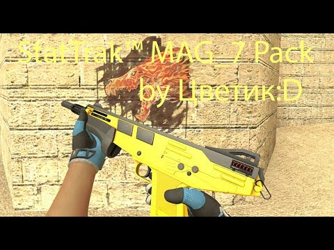StatTrak™ MAG-7 Pack By Цветик:D [Sporty Gloves]