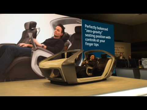 39 zero gravity 39 seats unveiled for self driving cars at. Black Bedroom Furniture Sets. Home Design Ideas