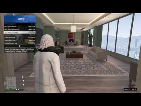 "GTA V Office Interior ""Oldspice: Vintage"" Finance and Felony"