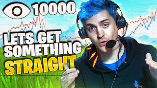 NINJA TALKS VIEWER COUNT...
