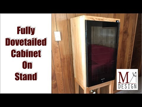 Build a Newair Beverage Cooler Cabinet on Stand