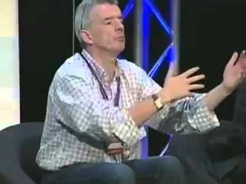 Master Class with Michael O'Leary at the Innovation Convention 2011 - Brussels