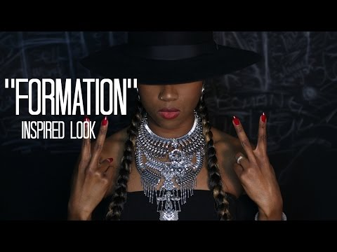 BEYONCE FORMATION VIDEO INSPIRED MAKE UP LOOK & SYTLE | FEATURING BLACK OWNED BUSINESSES