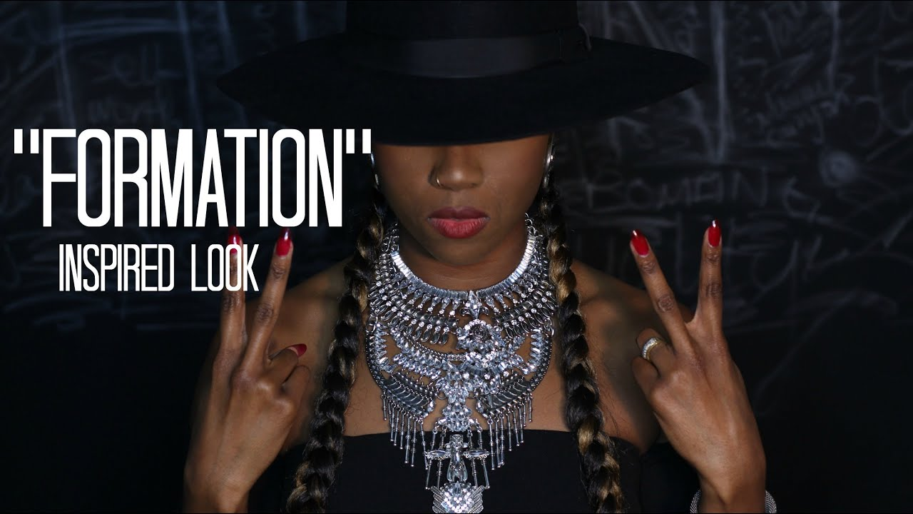 Beyonce Formation Video Inspired Make Up Look Sytle Featuring Black Owned Businesses Youtube