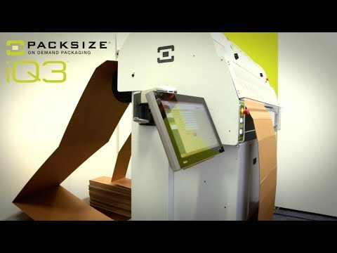 Introducing the iQ3, Packsize's ship-from-store ready machine!