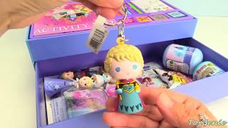 Disney Frozen Anna Elsa Activity Case Stickers Stamps Markers Surprises