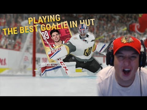 DROPPING $$$$ AND PLAYING THE BEST GOALIE IN HUT! | NHL 18 Hockey Ultimate Team Gameplay