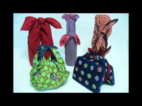 Самодельные сумки из ткани своими руками в технике фурошоки