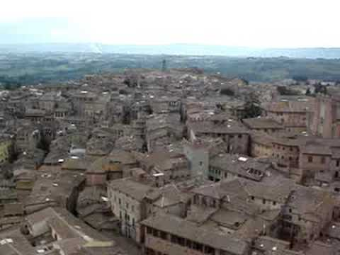 Western Siena from Torre del Mangia