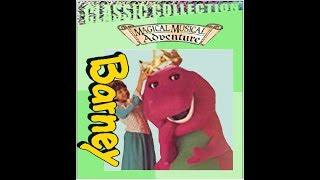 Barney's Magical Musical Adventure Custom Lyrick Studios 2000 VHS