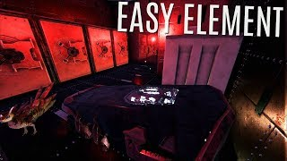 EASY ELEMENT and RED GEMS w/ Base Upgrades - Official PVP (E90) - Ark Survival