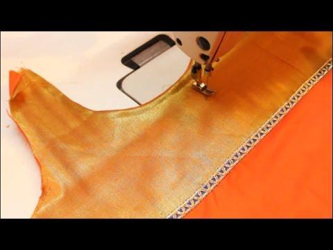 Kurta With Neckline Making In Tamil (DIY)