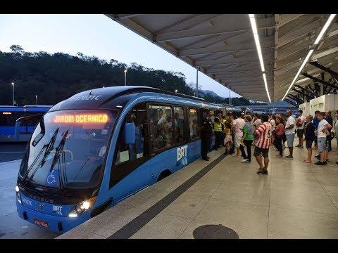 O BRT do Rio de Janeiro pode Parar