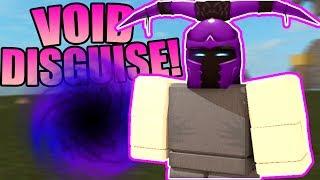 NOOB DISGUISE TROLL W/VOID ARMOR! | ROBLOX: Booga Booga