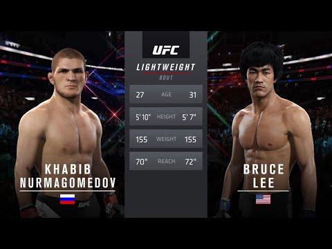 Хабиб  vs  Брюс Ли ( Хабиб Нурмагомедов против Брюса Ли ) UFC 2.