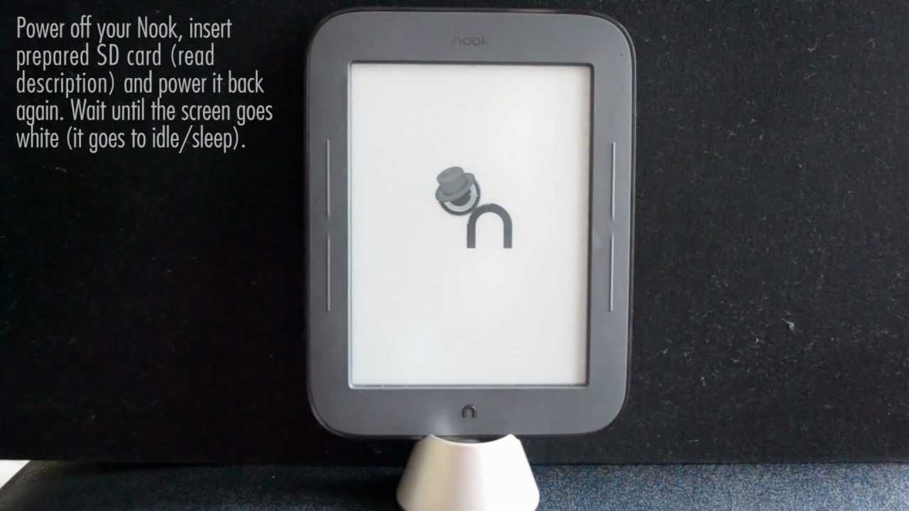 Hack Your Nook Simple Touch Into a Super E-Reader in Three