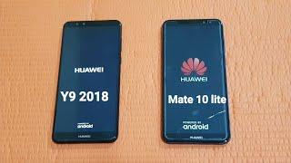 Huawei Y9 2018 vs Huawei Mate 10 lite - Speed Test!!