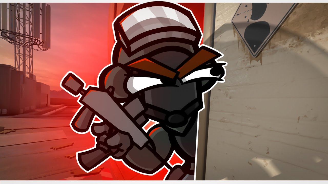 The Run Out in Rainbow Six Siege (Animation)