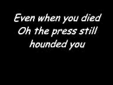 Elton John- Candle In The Wind. with lyrics