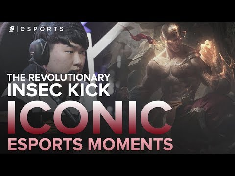 ICONIC Esports Moments: The INSEC Kick! A Revolutionary Lee Sin Combo (LoL)