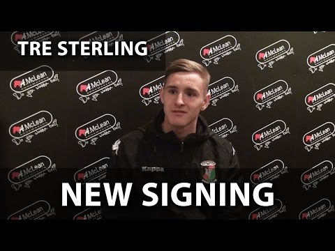 Interview - New Signing Tre Sterling