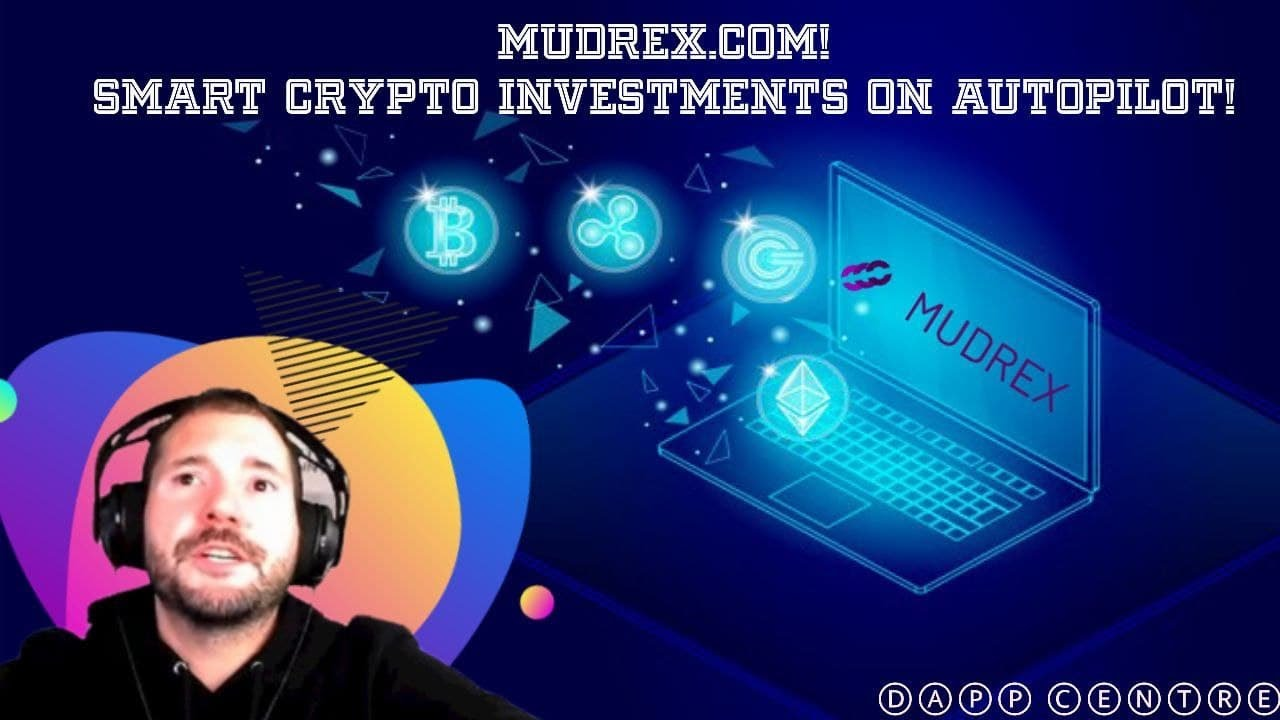 SMART CRYPTO INVESTMENTS ON AUTOPILOT! MUDREX.COM TRADING BOTS!