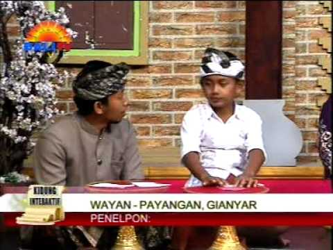 Yuna Pupuh Mijil lan Sekar Rare Bali TV