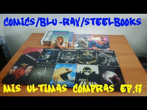 Comics / Blu-ray / Steelbooks - Mis Ultimas Compras Ep.17