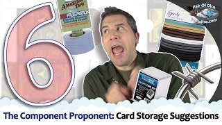 6 Board Game Card Storage Suggestions