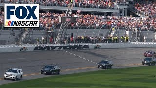 President Donald Trump takes a few laps around Daytona International Speedway | NASCAR ON FOX