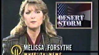 WHAS-TV 1991: 1/18/91 11PM Part 1 Action 11 News Nightteam