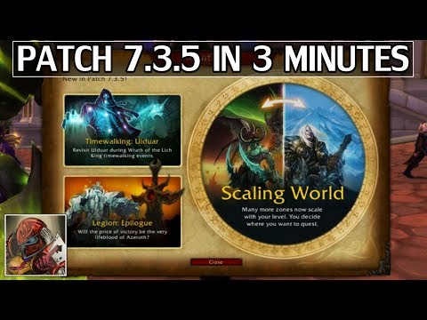 Patch 7.3.5 in 3 Minutes - Release Tomorrow!